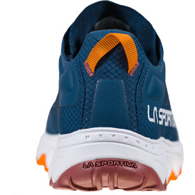 La Sportiva Helios III Running Shoes Women denim/rouge